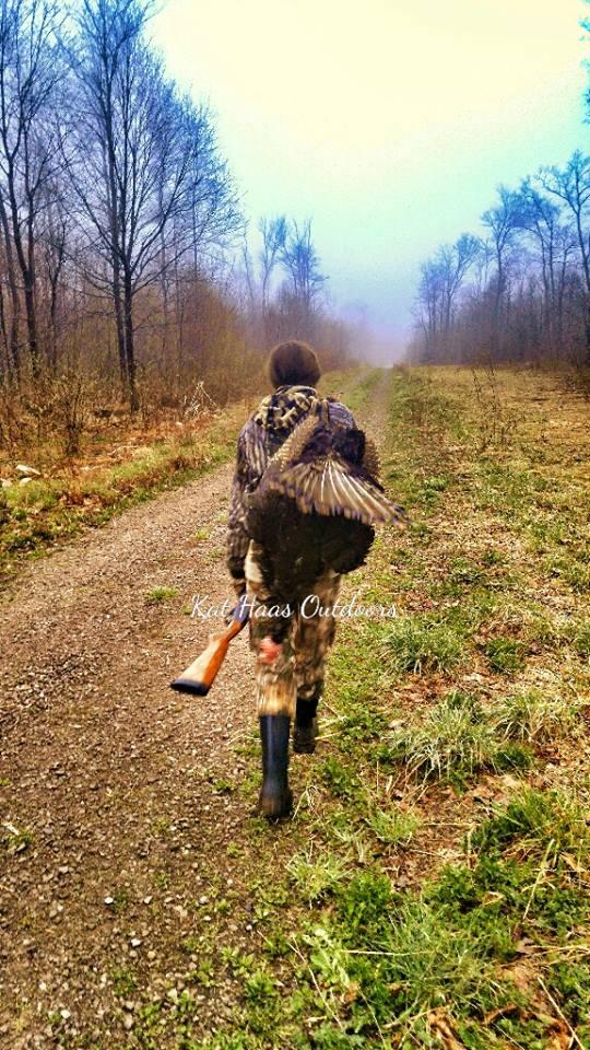 My First Turkey - Turkey Hunting Women