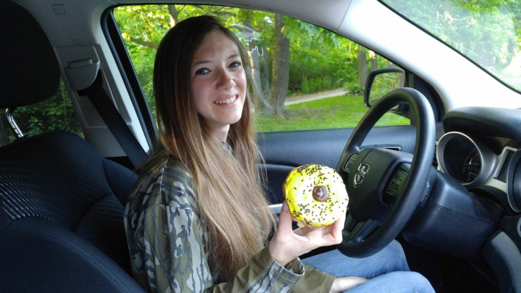 Black-Eyed Susan Donut
