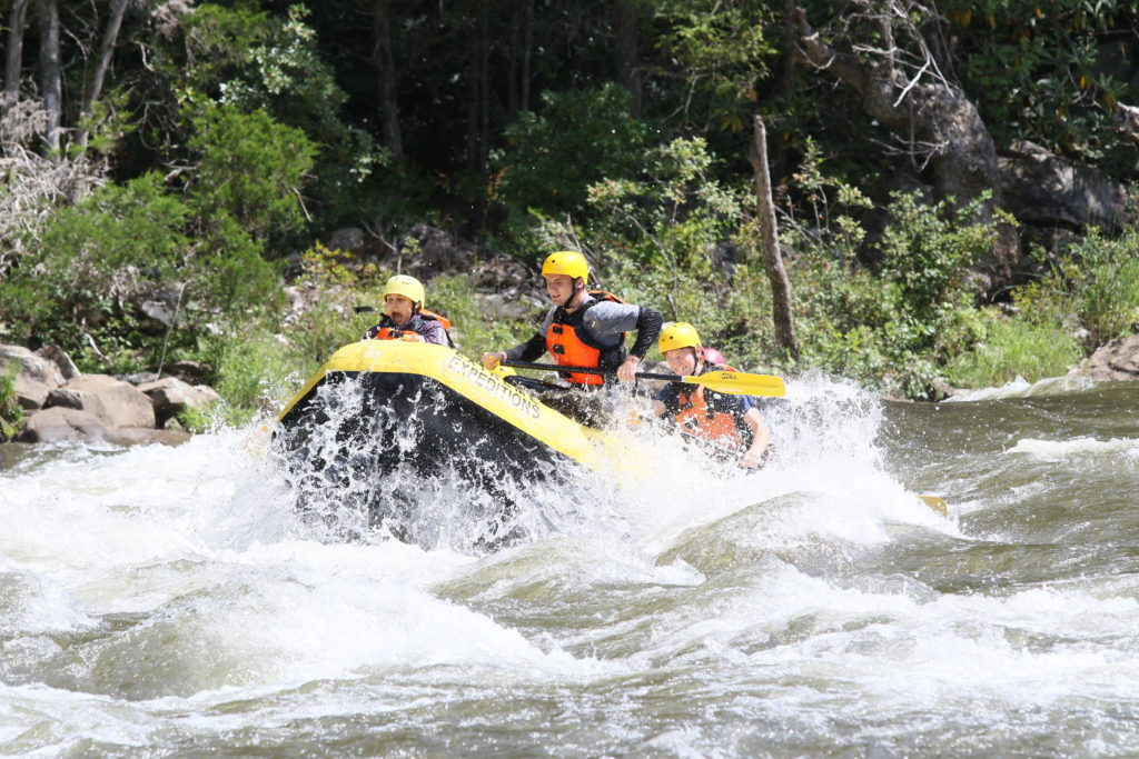 oak hill whitewater rafting