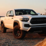 The 2017 Toyota Tacoma TRD Pro and the 2018 M-DOWA Spring Conference